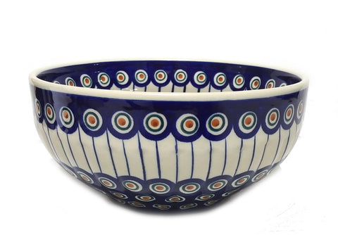 "8.25"" Salad Bowl in Peacock pattern"