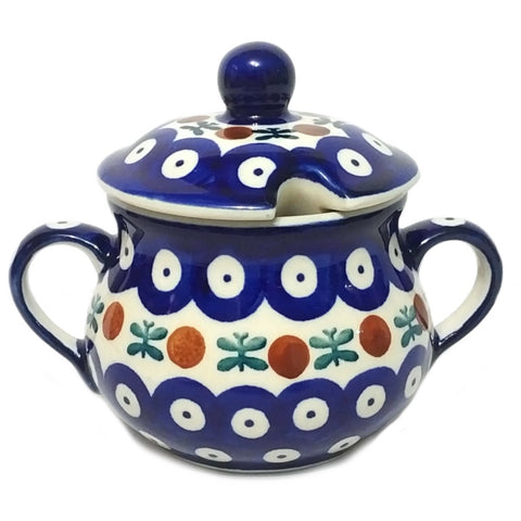 Sugar Bowl in Old Poland pattern