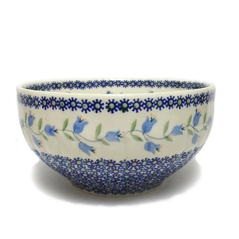 "8.25"" Salad Bowl in Lily pattern"