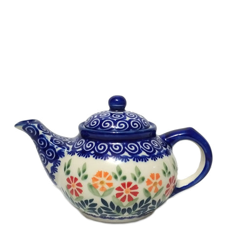 Mini Teapot in Spring Morning pattern