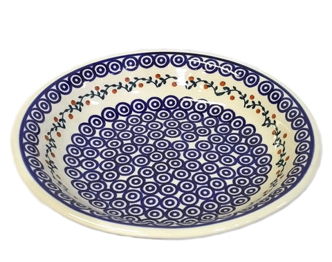 "9"" Pasta Bowl in Traditional Berry Trail pattern"