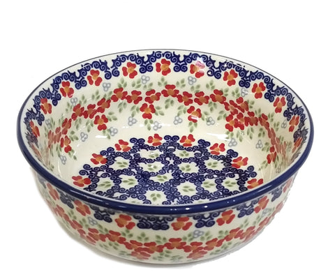 "18cm / 7"" Soup / Serving Bowl in Poppy Meadow pattern"