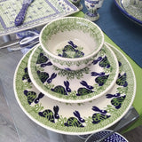 "8.5"" Luncheon Plate in Spring Bunny pattern"
