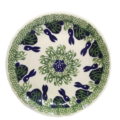 "6.5"" Bread and Butter Plate in Spring Bunny pattern"