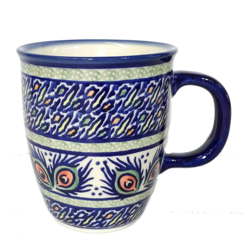 300ml Bistro mug in Signed Mardi Gras pattern