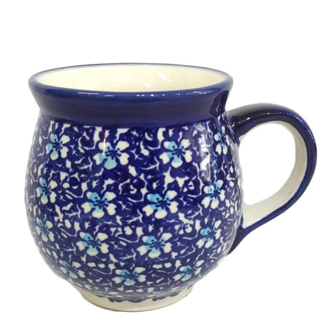 0.5L Large Bubble mug in Floral Fancy pattern