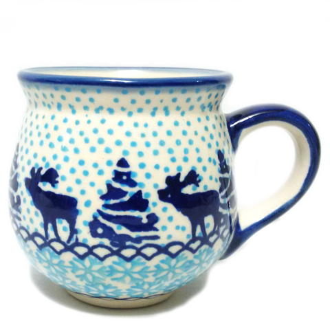200ml Bubble mug in Reindeer pattern
