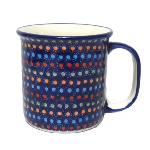 Large mug in Neon Lights pattern