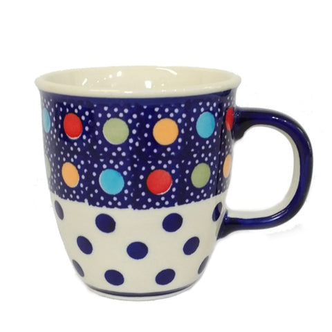 0.3L Bistro mug in Fun Dots pattern