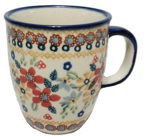 Bistro mug 300ml in Signed Summer Garden pattern