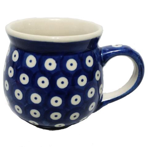 Bubble mug 8oz. Polka Dot pattern