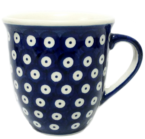 450ml large Bistro mug in Polka Dot pattern