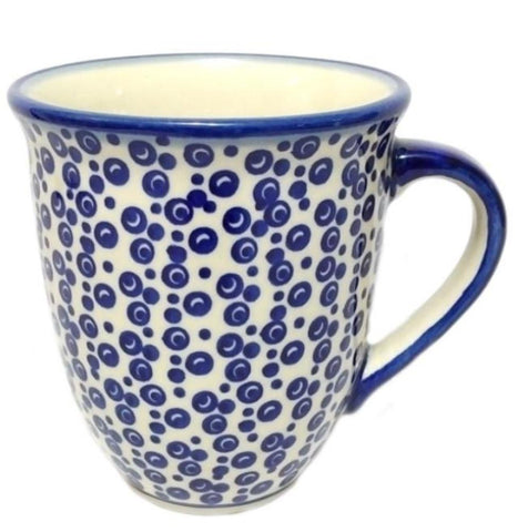 Large bistro mug 0.45 L in Bubbles pattern