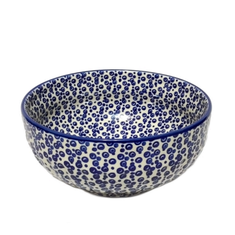 "8.25"" Salad Bowl in Bubbles pattern"