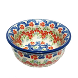"4.5"" Snack Bowl in Unikat Poppy Meadow  pattern"