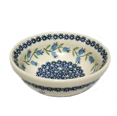 Cereal/Soup Bowl in Trailing Lily pattern