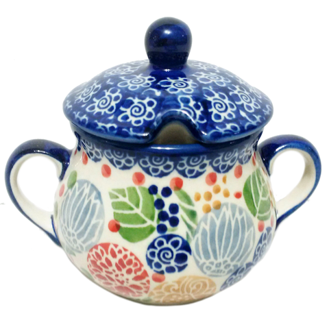 Sugar Bowl in Signed Summer Berries pattern