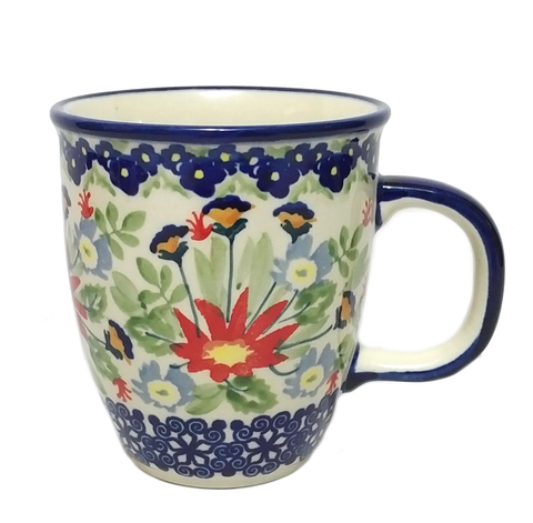 300ml Bistro mug in Wild Flower pattern
