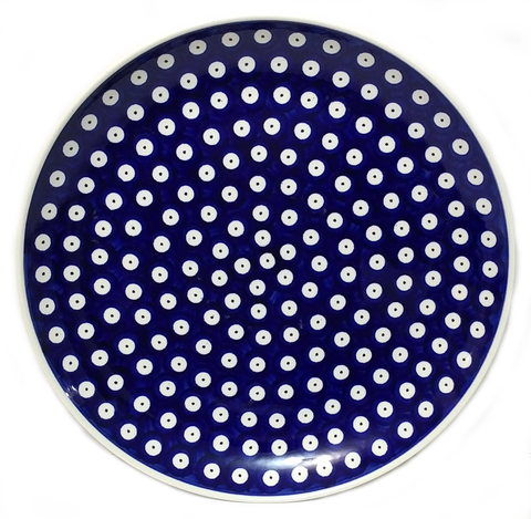 Dinner Plate 11.25\ /29cm in Traditional Polka Dot pattern  sc 1 st  By Hand and Fire & Dinner Plate 11.25\