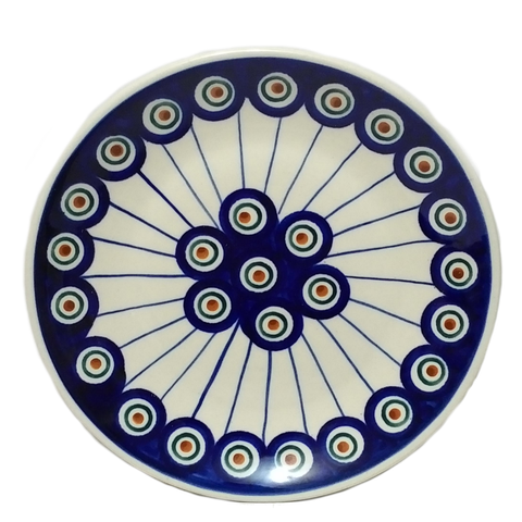 "Bread and Butter Plate 6.5"" in Peacock pattern"
