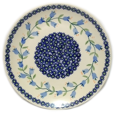 21.5 cm Luncheon Plate in Trailing Lily pattern