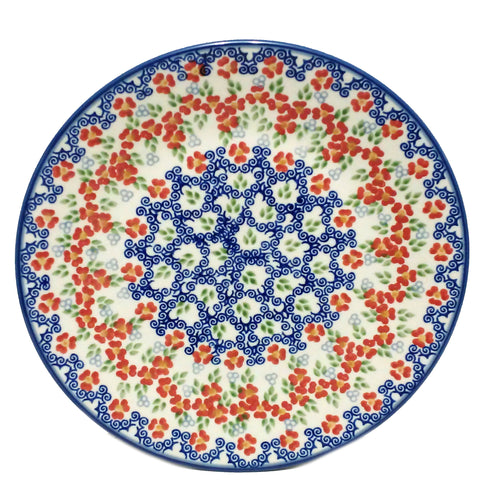 21.5 cm Luncheon Plate in Unikat Poppy Meadow pattern