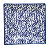 "SQUARE 9"" PLATTER in Bubbles pattern"
