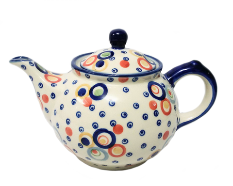 Morning teapot in Unikat Happy Bubble pattern