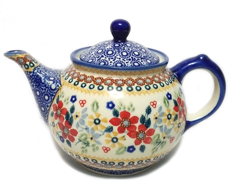 Morning teapot in Signed Summer Garden pattern