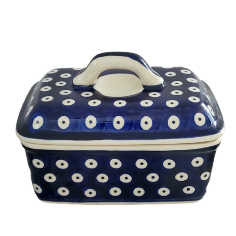 Butter box in Polka Dots pattern