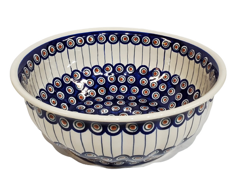 29cm Salad Bowl in Peacock pattern