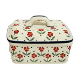 Butter box in Country Kitchen pattern
