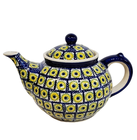 Afternoon teapot in Sunflower Box pattern