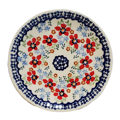17cm Bread and Butter Plate in Country Garden pattern