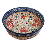 16.5cm Soup/Serving Bowl in Summer Garden pattern