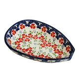 Spoon rest in Poppy Meadow pattern
