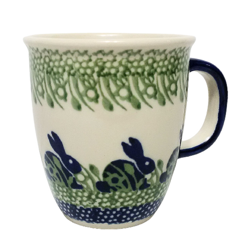 300ml Bistro mug in Spring Bunny pattern