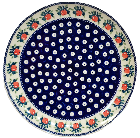 28cm Dinner Plate in Red Apple pattern