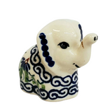 Miniature Elephant in Dancing Garden pattern