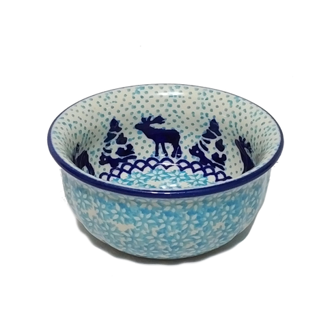 "4.5"" Snack Bowl in Reindeer pattern"