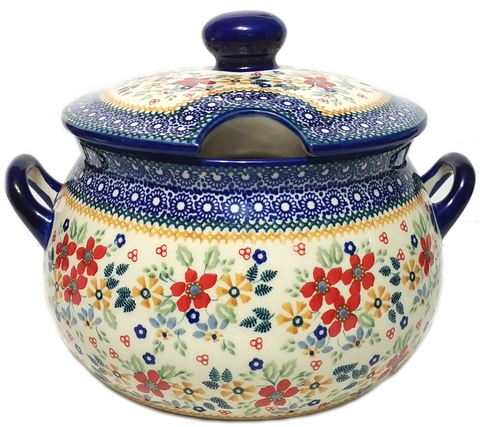 3L Soup Tureen in Signed Summer Garden pattern