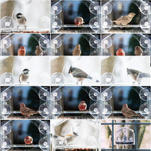 Load image into Gallery viewer, Birds-I-View Window Bird Feeder
