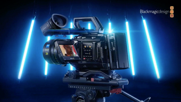 NEW Blackmagic Design 12K Cinema Camera! URSA Mini Pro 12K