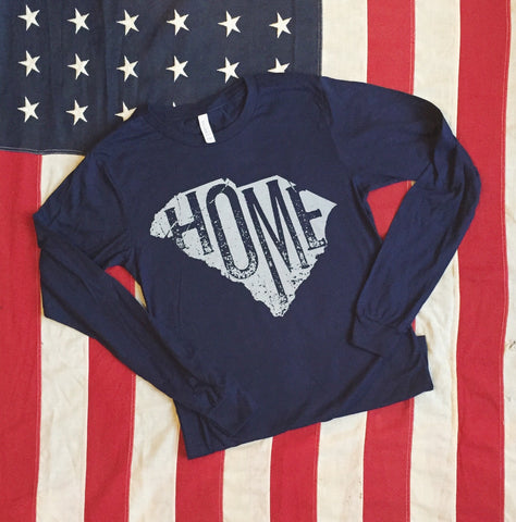 SC HOME tee - long sleeve