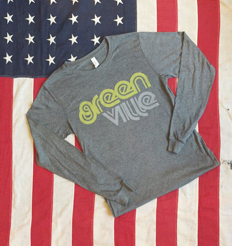 Greenville retro tee - long sleeve