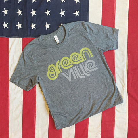 Greenville retro tee