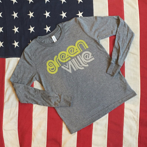 Greenville retro tee - long sleeve - youth
