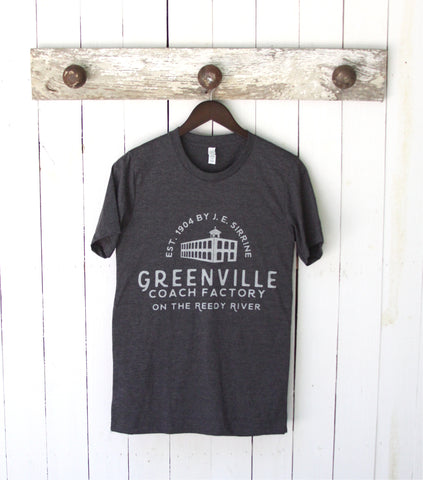 Greenville - Wyche Pavillion / the Historic Greenville Coach Factory Tee