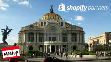 Primer MeetUp Shopify México, City.