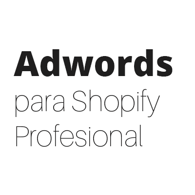 Google Adwords 10 para Shopify - masclientesconunclic